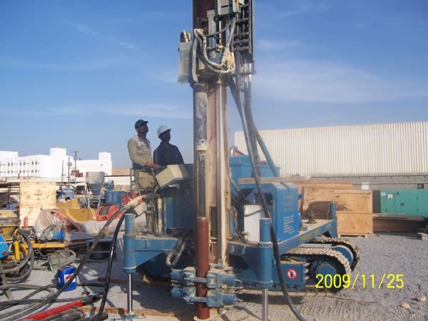 Pipe Drilling