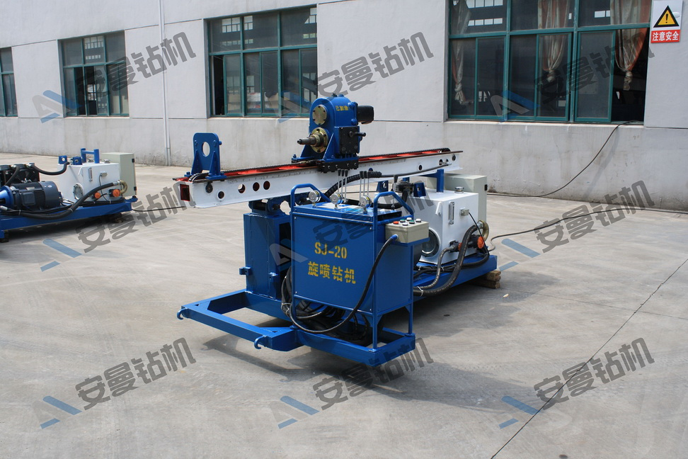SJ-20 Jet-Grouting Drilling Rig