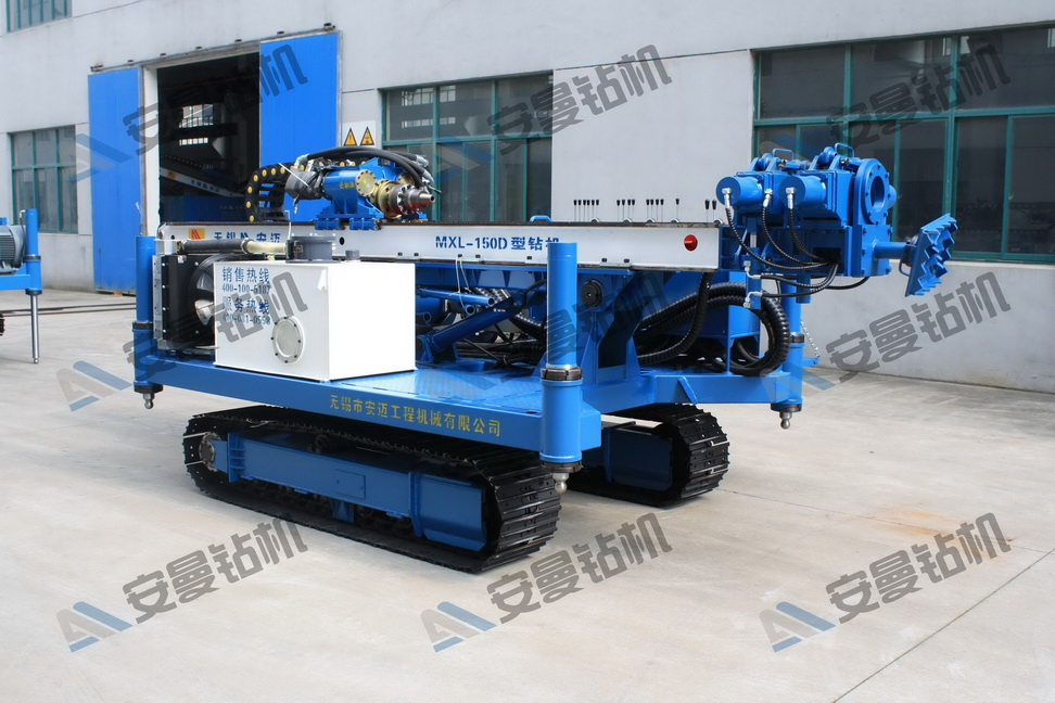 MXL-150D Deep Foundation Crawler Drilling Rig