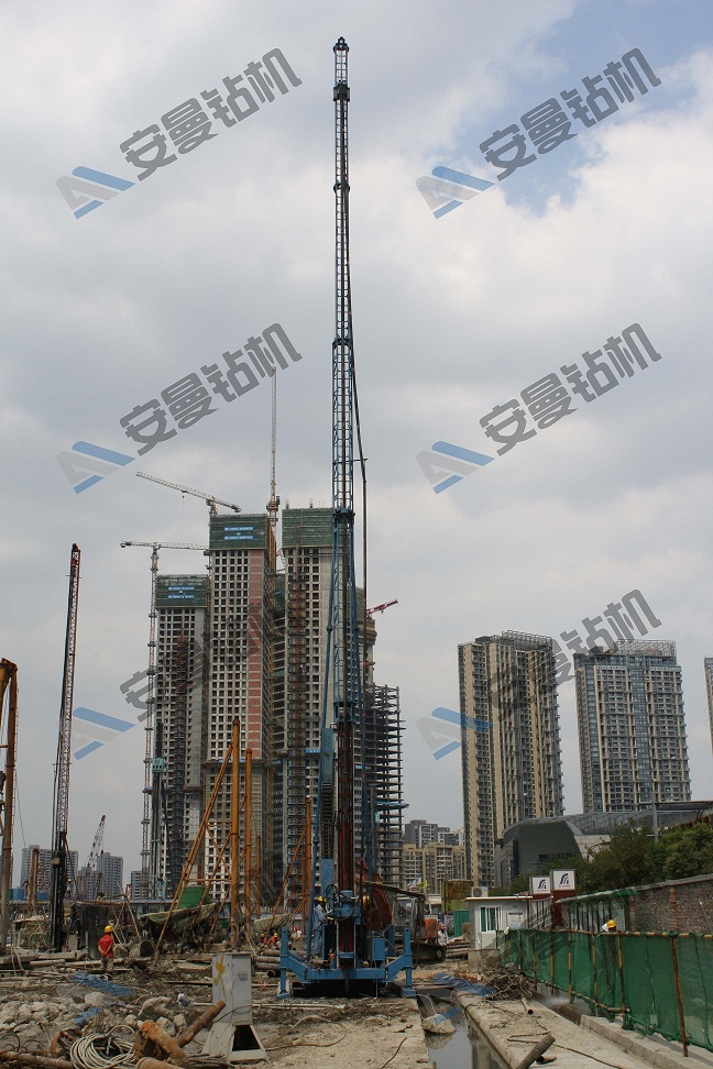 SJW-60 High Pressure Jet-Grouting Drilling Rig